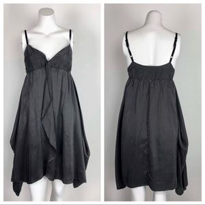 Aritzia Wilfred Silk Babydoll Dress